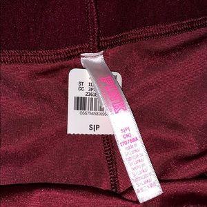 PINK Victoria's Secret Intimates & Sleepwear - Pink red velvet cheeky underwear